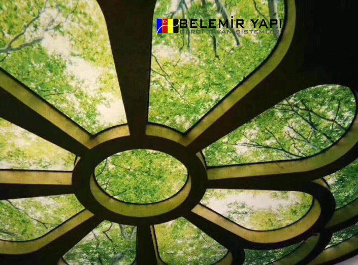 -تصاميم-الاسقف-الفرنسيةالاسقف-المشدودةديكورات-اسقفتصاميم-اسقف-فرنسية-رائعة-495x400 اجمل ديكورات الاسقف الفرنسية