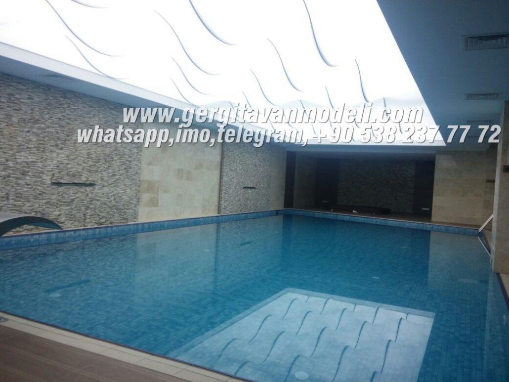 Pool Design, Decoration, Lighting | Stretch Ceiling Models