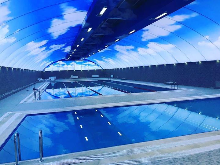 Latest Swimming Pool Decorations Stretch Ceiling Models,Training Instructional Design Examples